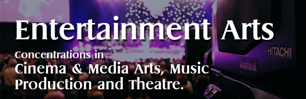 Entertainment arts at wesleyan
